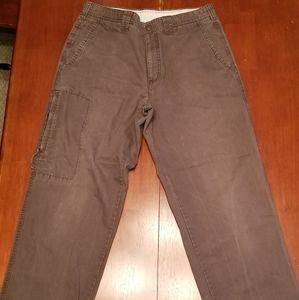 Columbia khaki pants.
